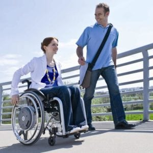 Alber e-motion Power Assisted Wheelchair