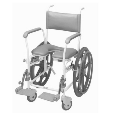 Aquamaster A11 Self Propelled Shower Commode Chair