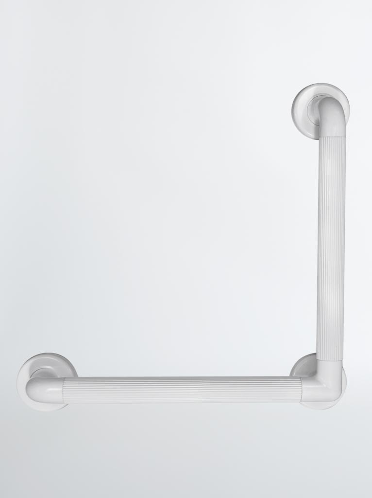 Plastic Fluted 90° Angled Grab Rail