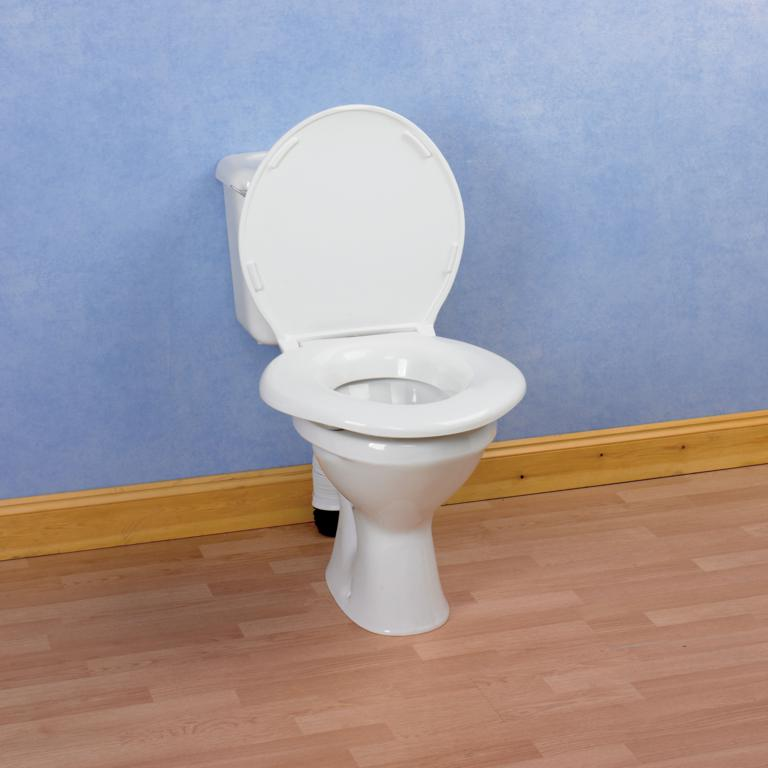 "Bariatric 2"" Raised Toilet Seat with Lid"