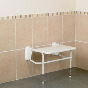 Bariatric Extra Wide Wall-Mounted Shower Seat (61cm)