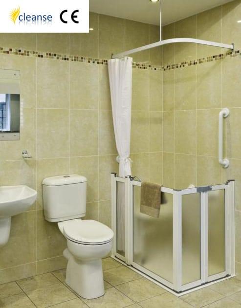 Cleanse Half Height Shower Doors