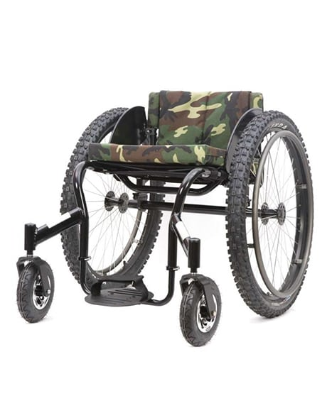 Crossfire All Terrain Active Wheelchair