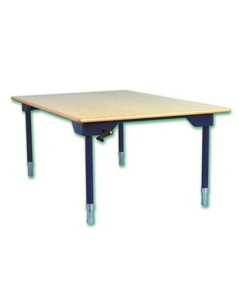 Height-Adjustable Activity Table