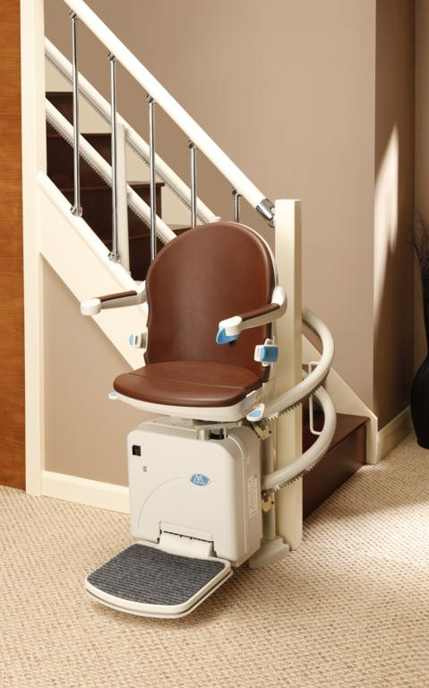 The Minivator 2000 Curved Stairlift