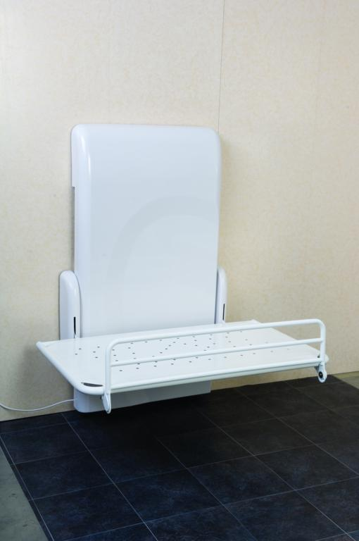 Nivano Height-Adjustable Shower Changing Table