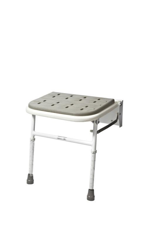 Padded Wall Mounted Folding Shower Seat