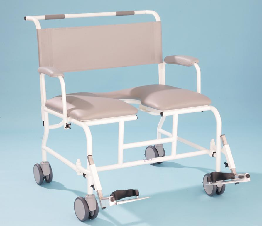 T100 Bariatric Shower Commode Chair