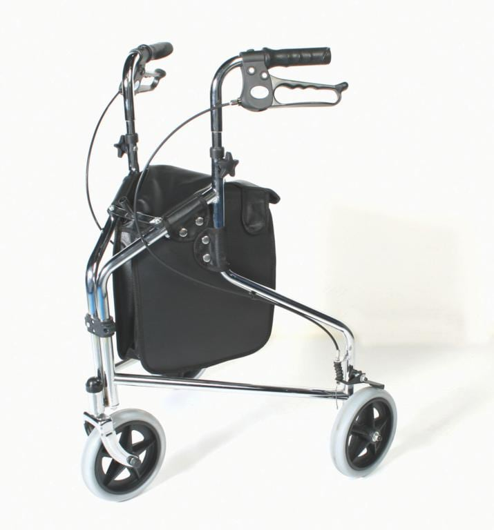 Tri Wheel Walker with Loop Lockable Brakes