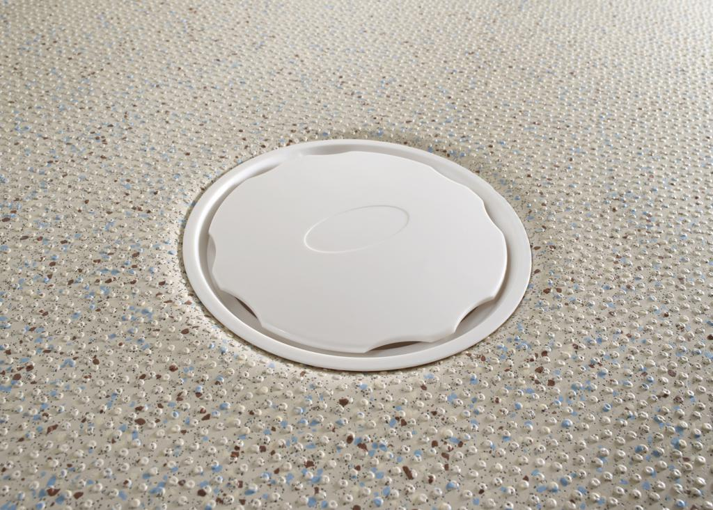 Vinyl Floor Shower Waste