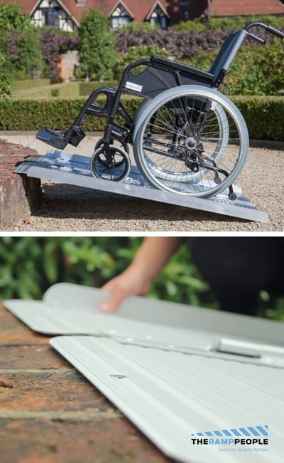 Folding Wheelchair Ramps