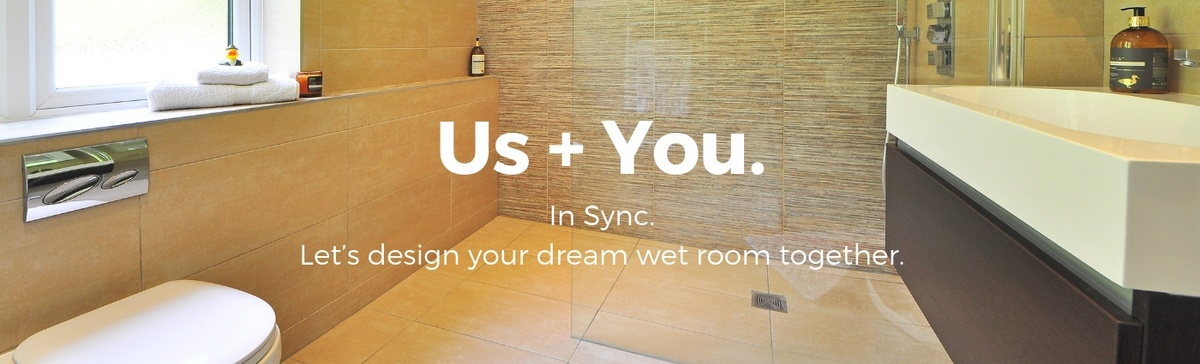 Sync Living wet room design