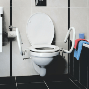 3-in-1 Toilet Support Rail System