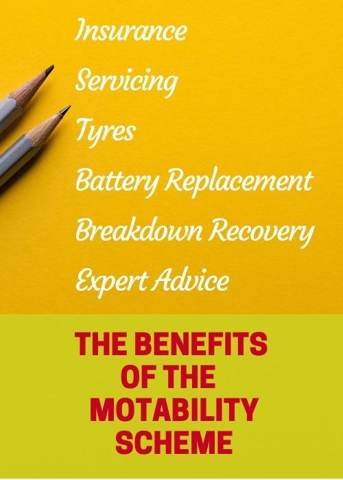 Motability Scheme - benefitsMotability Scheme - benefits