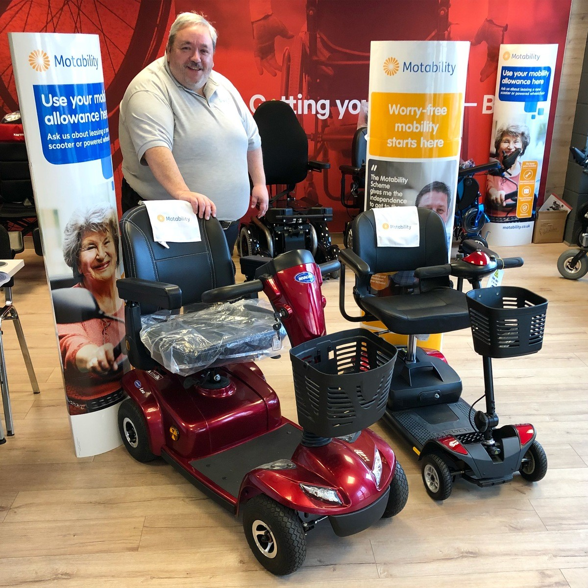 The motability scheme explained by Jim at Sync Living