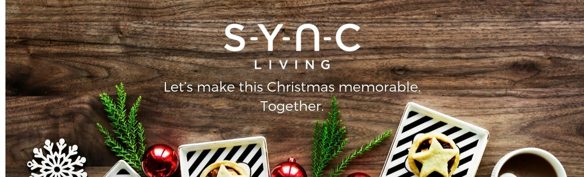 Christmas gift guide from Sync Living