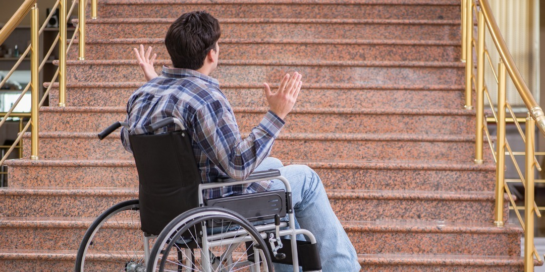 without a wheelchair ramp you will struggle to access your home