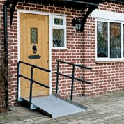 Buying a wheelchair ramp at Sync Living: Enable access welcome ramp