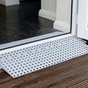Buying a wheelchair ramp at Sync Living: Enable access build-a-slope threshold ramp